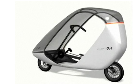 The Sinclair C5 Electric Vehicle Is Back As The X 1