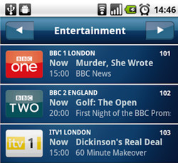 Sky+ remote recording app arrives for Android