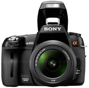 Sony churns out the Alpha A450 DSLR to satisfy every sub-$1,000 budget