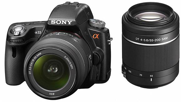 Sony SLT-A55V and SLT-A33 Alpha dSLRs offer 'Translucent Mirror Technology'