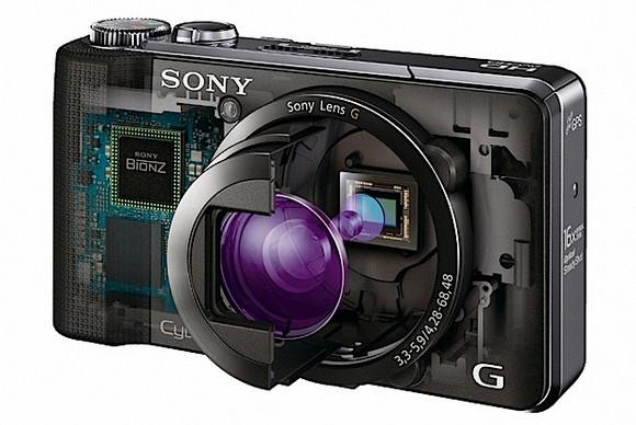 Sony DSC-HX100V and HX9V 16.2MP superzooms landing in April