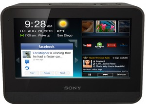 Sony release Dash wi-fi alarm clock, sorry, 'Personal Application Viewer'