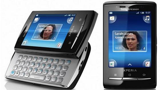 Sony Ericsson reveals Xperia X10 mini and Xperia X10 smartphones
