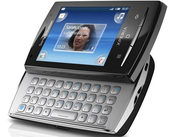 Sony Ericsson Xperia Mini Pro Android-powered pocket-tickler released
