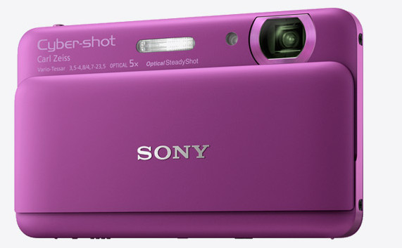 Sony TX55 Cybershot claims 'world's thinnest compact camera' accolade