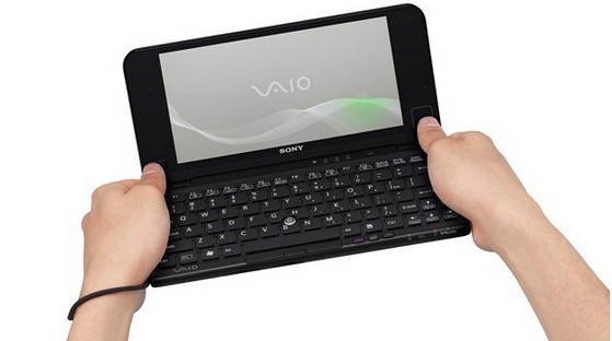 Sony Vaio P series packs accelerometer, touchpad, GPS