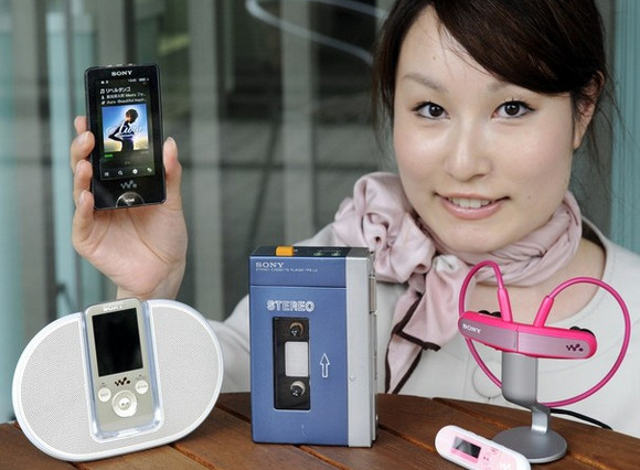 Sony retires the cassette Walkman after 30 years