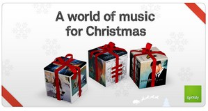 Spotify serves up gift subscriptions for the hols