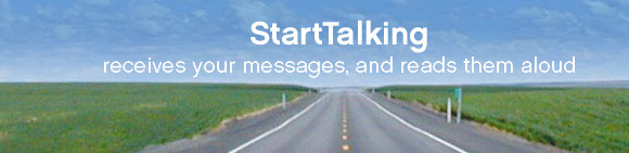 Send SMS messages without even looking at your phone with StartTalking