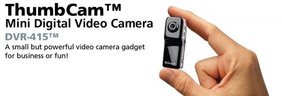 Swann ThumbCam mini-cam for super-sneaky movies