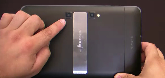 T-Mobile LG G-Slate gets high
