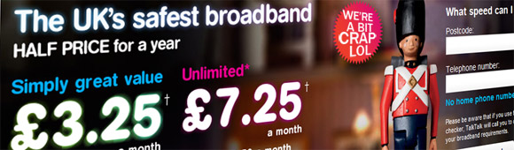 Talk Talk - the network people love to complain about: Ofcom