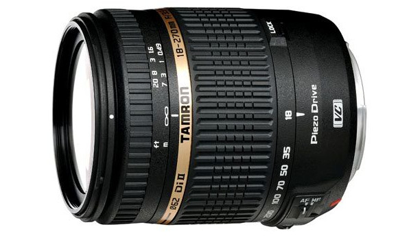 Tamron 18-270mm Di II VC PZD wins Lens of the Year award