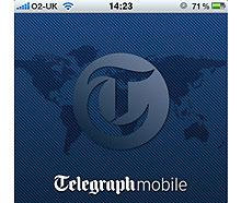 Daily Telegraph iPhone app lets users file breaking stories