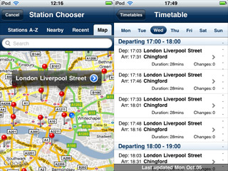 thetrainline releases free iPhone timetable app