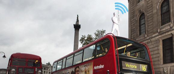 Three unleashes human MiFi hotspots on the city streets