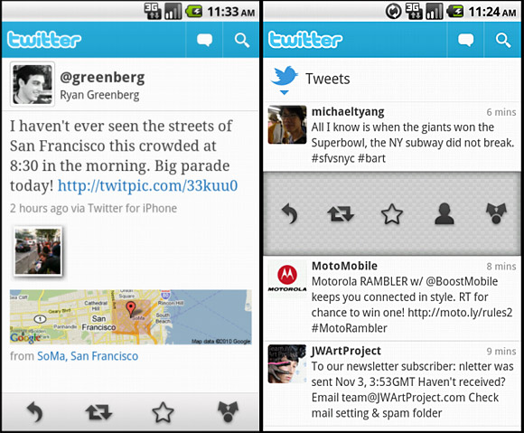 Twitter updates Android app, promises 'awesomeness'