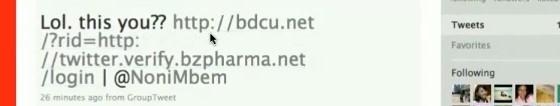 Twitter 'LOL' BZPharma Phishing attack festers