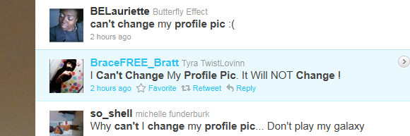 Twitter wobbles again, won't let people change their profile pics