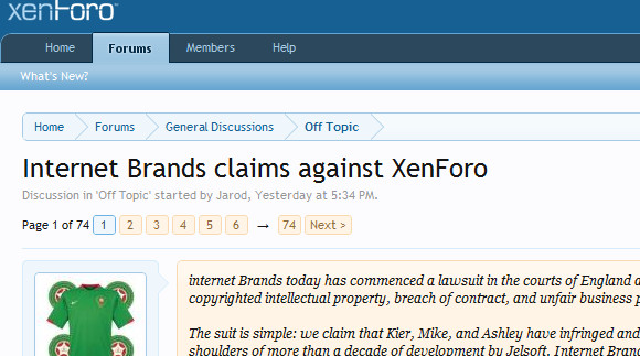 Forum Board Wars – may the Xen be with you (vBulletin vs XenForo)
