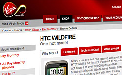 Virgin: Android 2.2 on HTC Desire and Wildfire in September