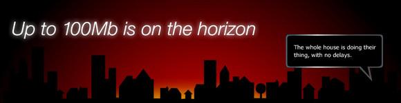 Virgin Media 100Mb broadband takes off
