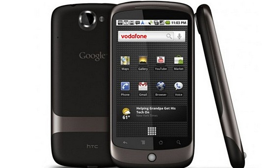 Google Nexus One hits Vodafone UK Friday, April 30th