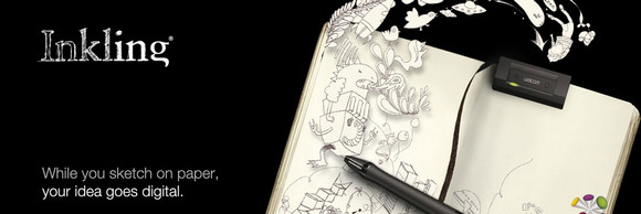 Wacom's amazing Inkling gizmo turns paper sketches into digital vector art