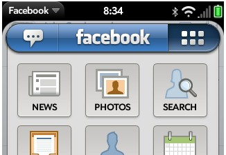 Facebook for webOS updated