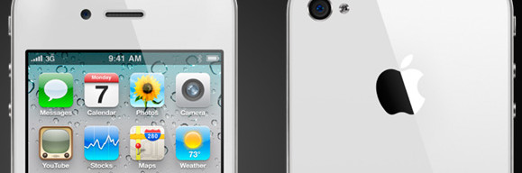 White iPhone 4 finally drags its shiny botty on to Three, Orange networks