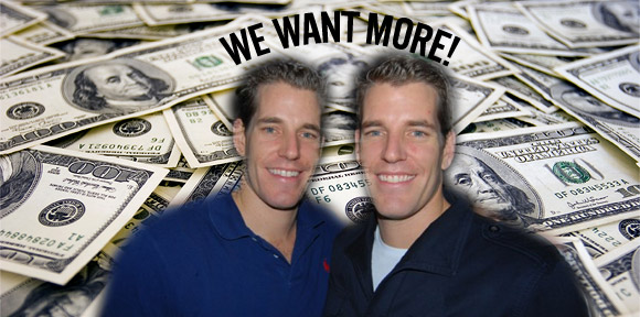 The relentless greed of the Winklevoss twins over their Facebook claim