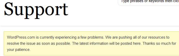 Wordpress wobbles like an oscillating jelly. And it's all Matt's fault.