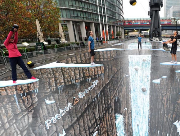 World's largest 3D street art revealed in London