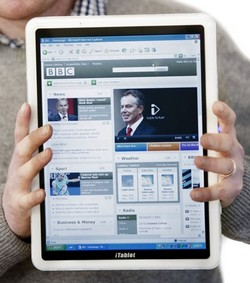 iTablet: like a Windows iPad, but with a bigger screen