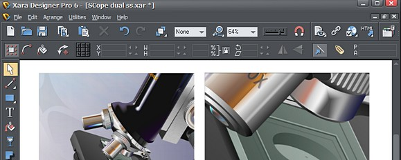 Xara Photo & Graphic Designer/Pro 6 offer speedy graphics editing
