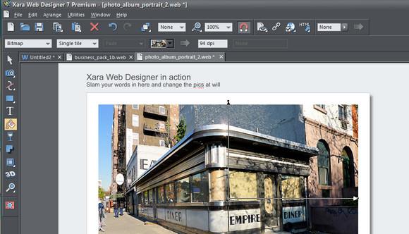 Xara Web Designer 7: drag and drop web design on a budget - review