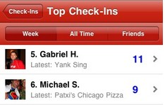 Yelp updates iPhone app and goes for Foursquare with 'check in' features
