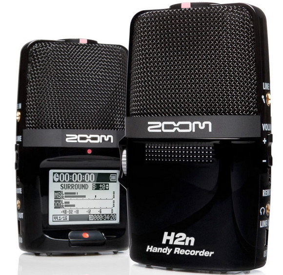 Zoom H2n Handy Recorder packs five studio mics in handheld package