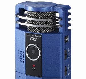 Zoom Q3 HD audio camcorder available in the UK