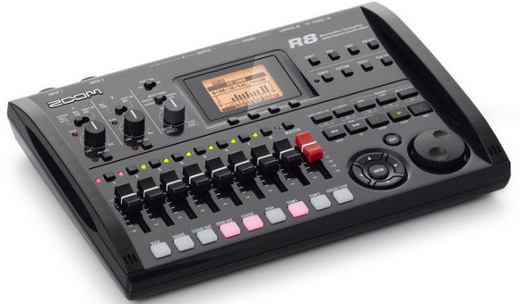 Zoom R8 feature-packed mini-recording studio - a snip at £285