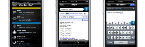 Vlingo iPhone app