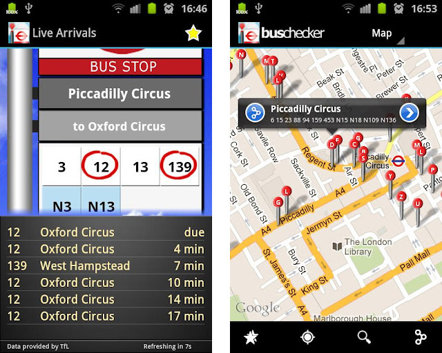 Bus Checker app for Android and iOS ensures you'll always get home in London