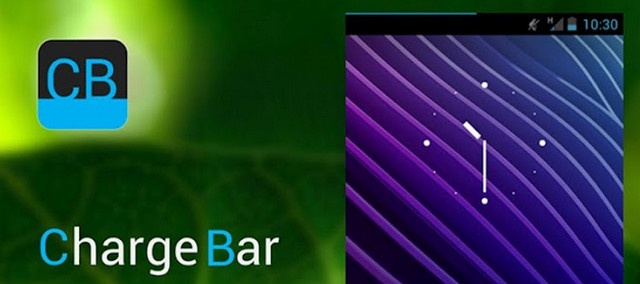 ChargeBar for Android - a really simple battery charge indicator