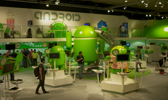 Android explodes: 450,000 Android Apps, 300 million devices, one billion app downloads per month