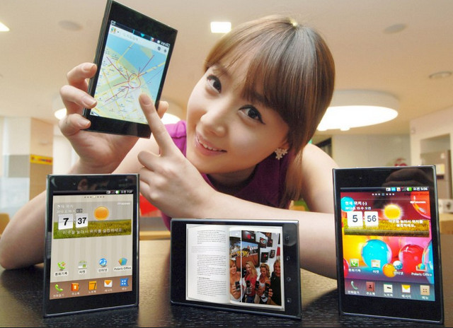 LG Optimus Vu takes on Galaxy Note with 5 inch screen and stylus