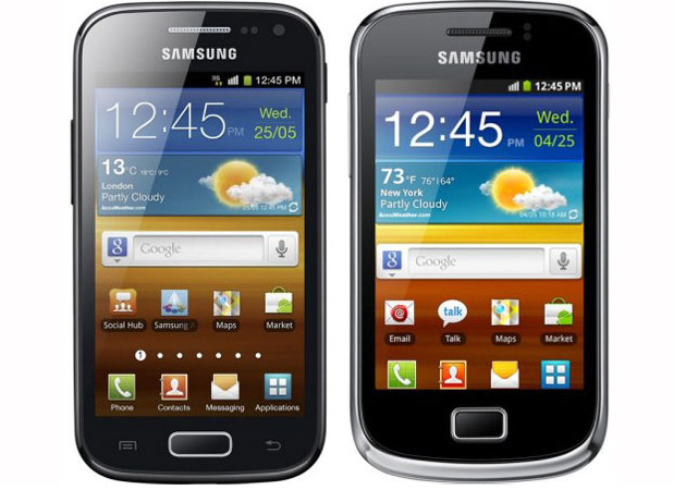 Samsung Galaxy Ace 2 and Galaxy Mini 2 smartphones slip into the spotlight
