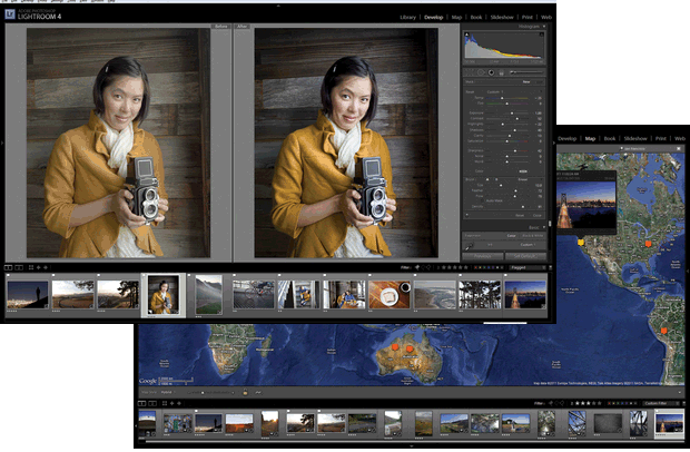 Adobe releases Photoshop Lightroom 4, slashes prices by half