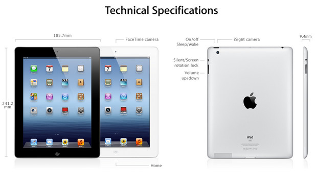 Apple's new iPad: all the specs you'll need