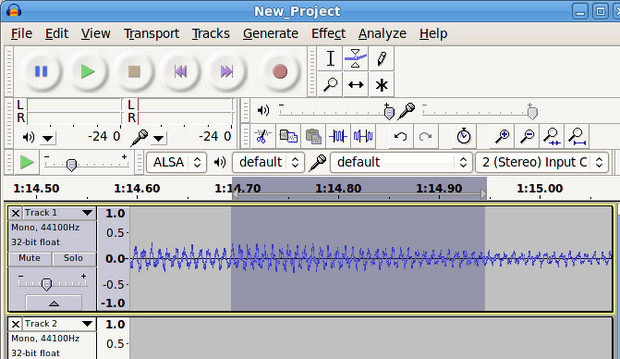 Ace open source audio editor Audacity hits v2, available on PC, Mac, Limux