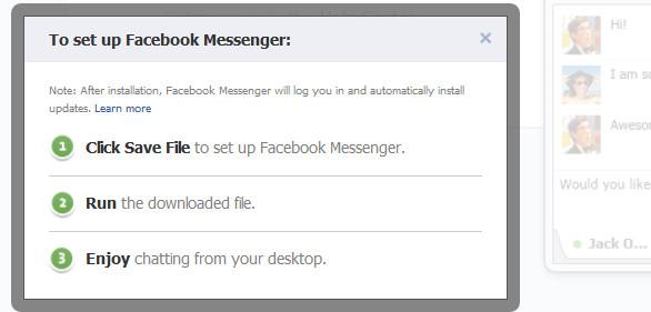 Facebook's first desktop app for Windows released for free download